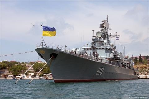 """""""Гетьман Сагайдачний"""" провів навчання типу PASSEX з кораблями флотів чотирьох країн"""