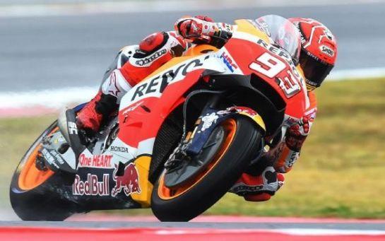 Маркес выиграл Гран-при Арагона