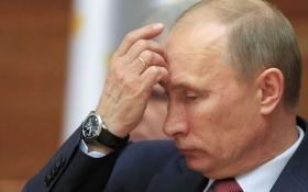"""Карикатурист высмеял """"нефтяной нож"""" в спину Путина"""