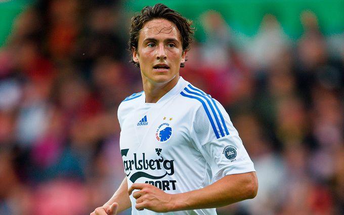 Датский футболист забил фантастический гол в Лиге чемпионов: опубликовано видео