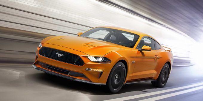 Форд MustangGT получит к следующему 2018г. новейшую выхлопную систему