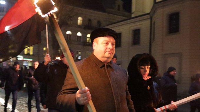День рождения Бандеры отметили по всей Украине: появились фото и видео (3)