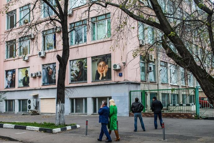 У Росії незвично вшанували пам'ять знаменитої журналістки: з'явилися фото (1)