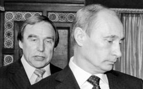 Путін зі своїм другом став героєм смішної карикатури