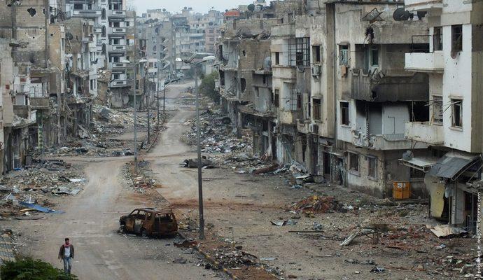 Франция призывает РФ прекратить бомбардировки мирных жителей Сирии