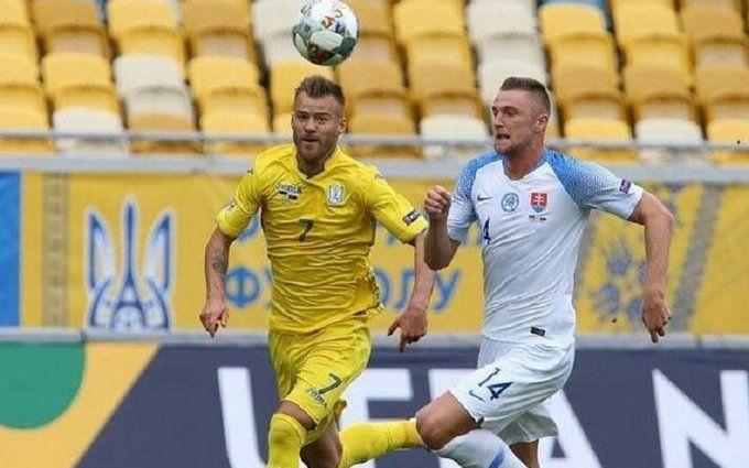 Сборная Украины по футболу вошла в ТОП-5 сильнейших команд Лиги наций