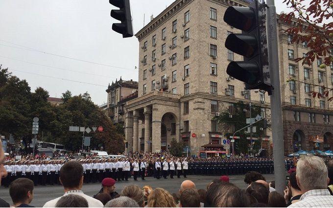 Військовий парад у Києві: онлайн-відео трансляція