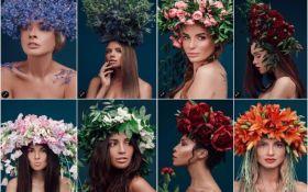 Известные украинки примеряли роскошные купальские венки: опубликованы фото