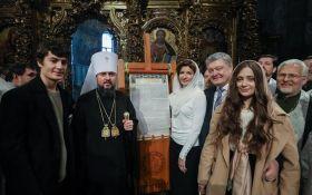 Мы разорвали последние путы, которые связывали нас с Россией: Порошенко поздравил украинцев с Рождеством