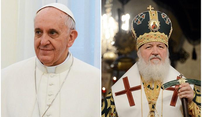 Папа Римский и патриарх Кирилл на встрече будут говорить о политике