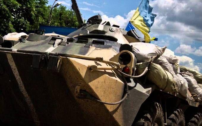 Штаб: За минувшие сутки трое украинских воинов получили ранения взоне АТО