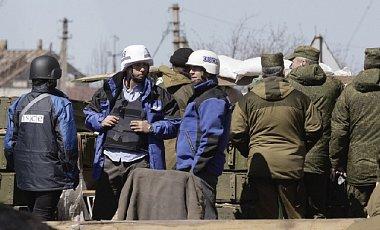 Спостерігачі ОБСЄ зафіксували танки бойовиків поблизу Маріуполя (1)