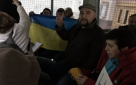 У Москві відповіли затриманнями на акцію в підтримку Савченко: опубліковані фото