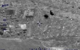 Війну на Донбасі показали з повітря: опубліковано відео