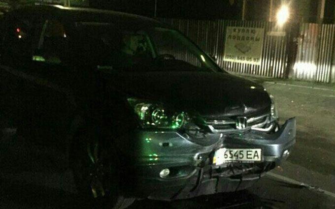 У масштабній п'яній ДТП під Києвом постраждали п'ять авто: опубліковані фото