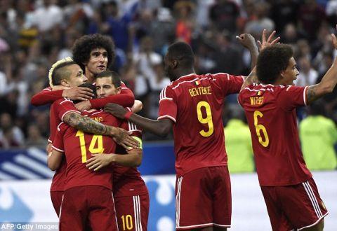 Рейтинг ФІФА очолила збірна Бельгії