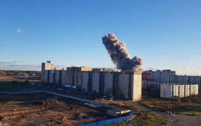 В России на заводе пиротехники произошел мощный взрыв - фото и видео
