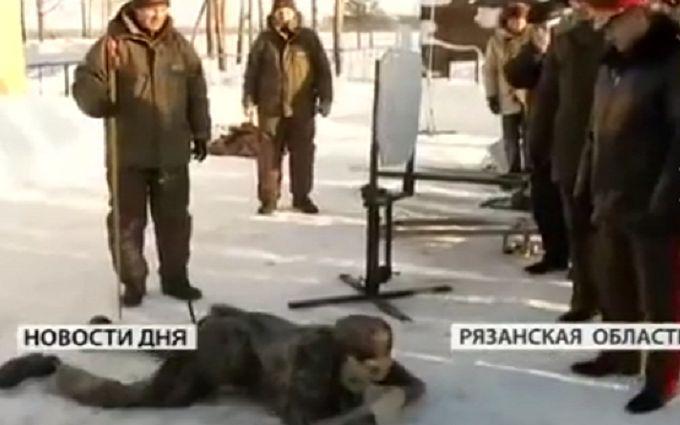 В сети посмеялись над российским роботом-военным с лыжной палкой в неожиданном месте: появилось видео