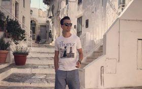 Ведучий Євробачення Олександр Скічко похизувався відпочинком в Італії