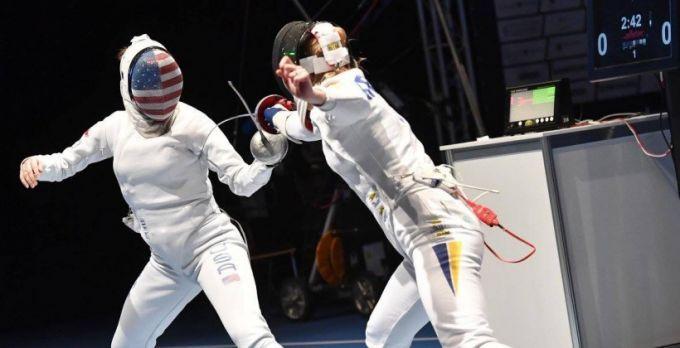 Украинка Кривицкая завоевала «бронзу» начемпионате мира пофехтованию