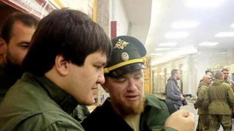 Терорист «Моторола» засвітився в Москві на «з'їзді» найманців (3 фото) (1)