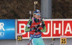 Украинская биатлонистка вошла в топ-5 на Кубке мира