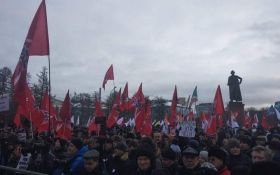 """Отдаем Путина вместо Курил"": тысячи россиян вышли на митинги против власти"