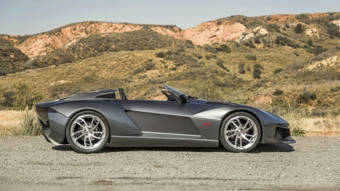 Rezvani розробляє «заряджену» версію спорткара Beast (4 фото) (2)