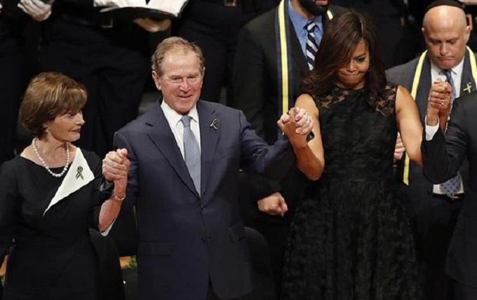 Витівка Буша-молодшого обурила американців і порадувала фанатів Путіна: з'явилося відео
