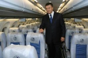 Янукович витратив 12 млн гривень з держбюджету на утримання свого авіапарку