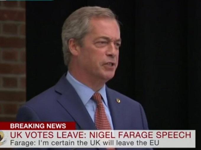 Один з головних ідеологів Brexit зробив гучну заяву: з'явилося відео