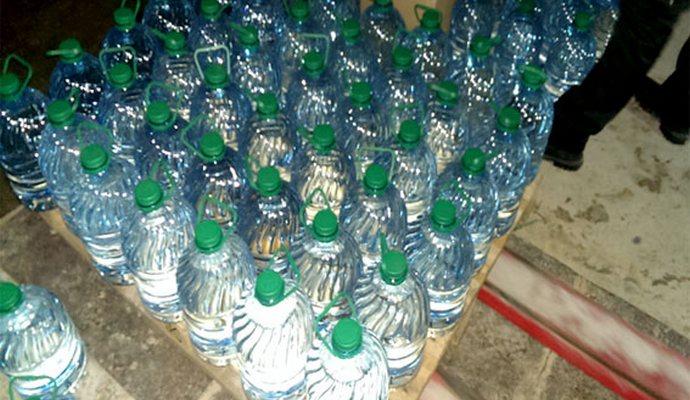В Полтаве найден подпольный цех производства алкоголя (5 фото)