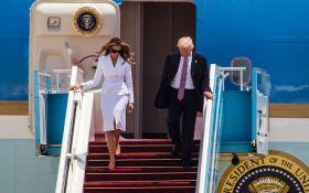 Меланія Трамп в Ізраїлі не захотіла брати за руку свого чоловіка: з'явилося відео