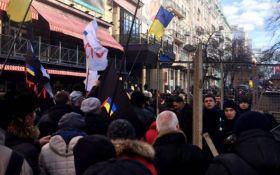 Стычки в центре Киева: появилась реакция полиции
