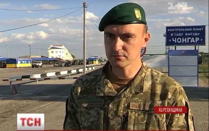Небезпечний Крим: з'явилося нове відео з адмінкордону окупованого півострова