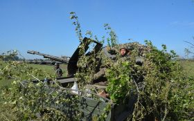 Штаб ООС показав видовищні навчання артилеристів ЗСУ: опубліковано відео