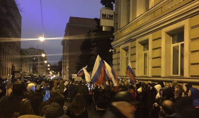 В Москве атаковали посольство Украины: опубликованы фото и видео (4)