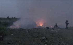 Миколаїв через пожежу на звалищі огорнув отруйний дим: опубліковано відео