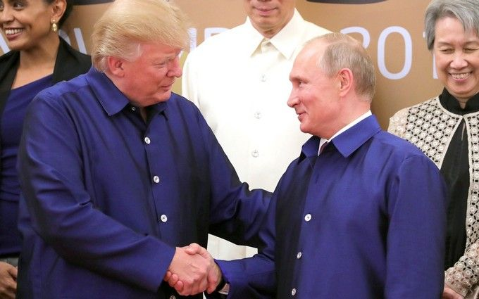 Трамп назвал «замечательными» переговоры сПутиным вХельсинки