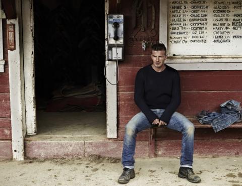 Дэвид Бекхэм (David Beckham) в фотосессии Джоша Олинса (Josh Olins) для журнала Esquire UK (сентябрь 2012), фото 7