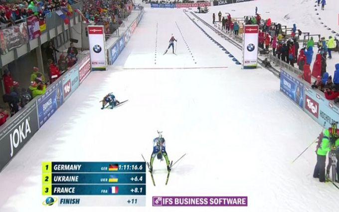 Україна феєрично завоювала срібло на чемпіонаті світу з біатлону