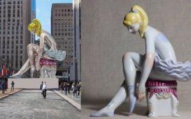 Спикер Кунса: Надувная балерина в Нью-Йорке - законная копия