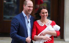 Официально: объявлено имя сына принца Уильяма и Кейт Миддлтон