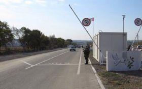 В очереди возле КПВВ Новотроицкое умер пожилой мужчина