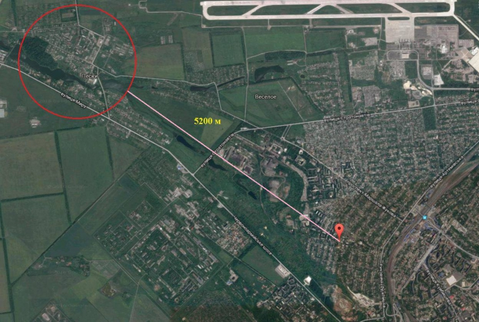 У штабі АТО фото і картами спростували нову пропаганду бойовиків ДНР (2)
