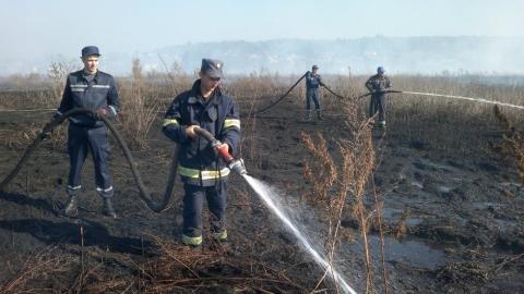 Площа горіння торфу під Києвом збільшилася до 106 гектарів (1)