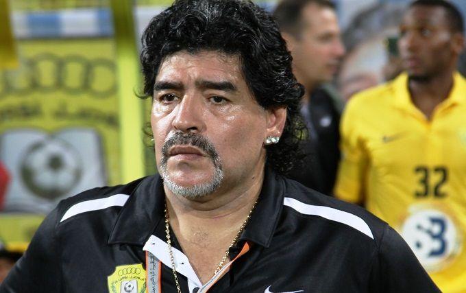 Легендарный Диего Марадона возглавил белорусское Динамо