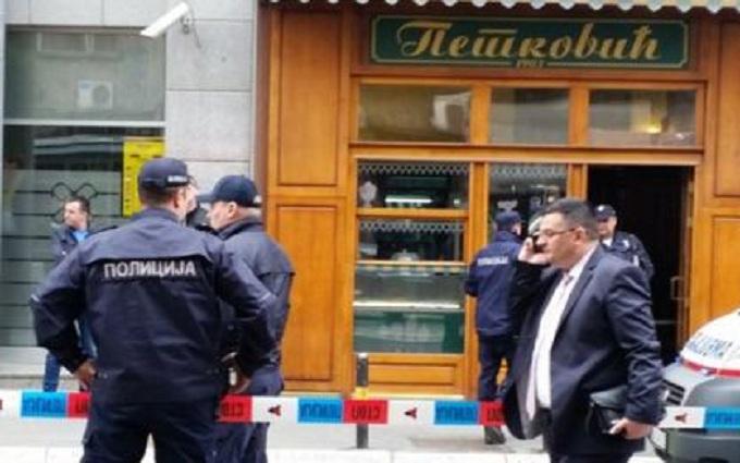 В Сербии смертник устроил теракт: опубликовано видео