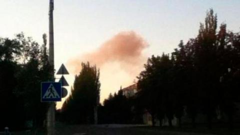 У декількох районах Донецька прогриміли вибухи (1)