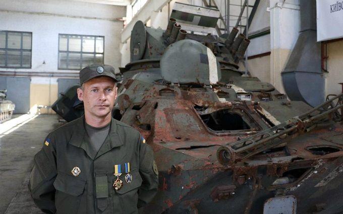 Легендарний БТР Нацгвардії повернувся до Києва з Донбасу: опубліковано відео